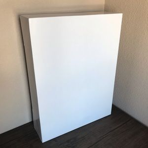 White box pack of 2 boxes